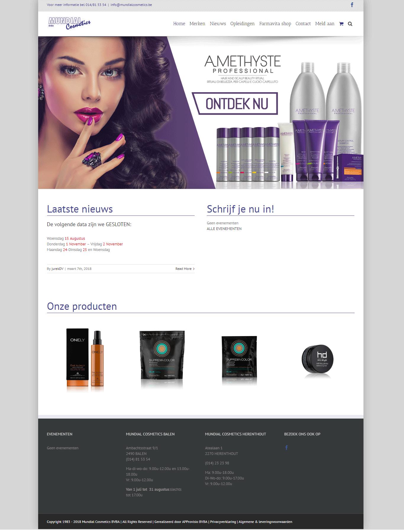 Mundial cosmetics